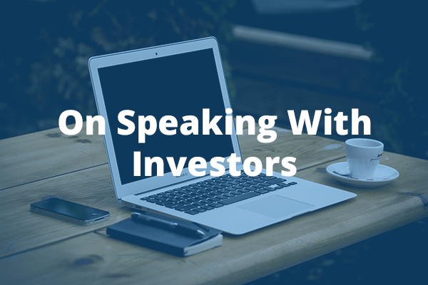 Speaking-to-investors