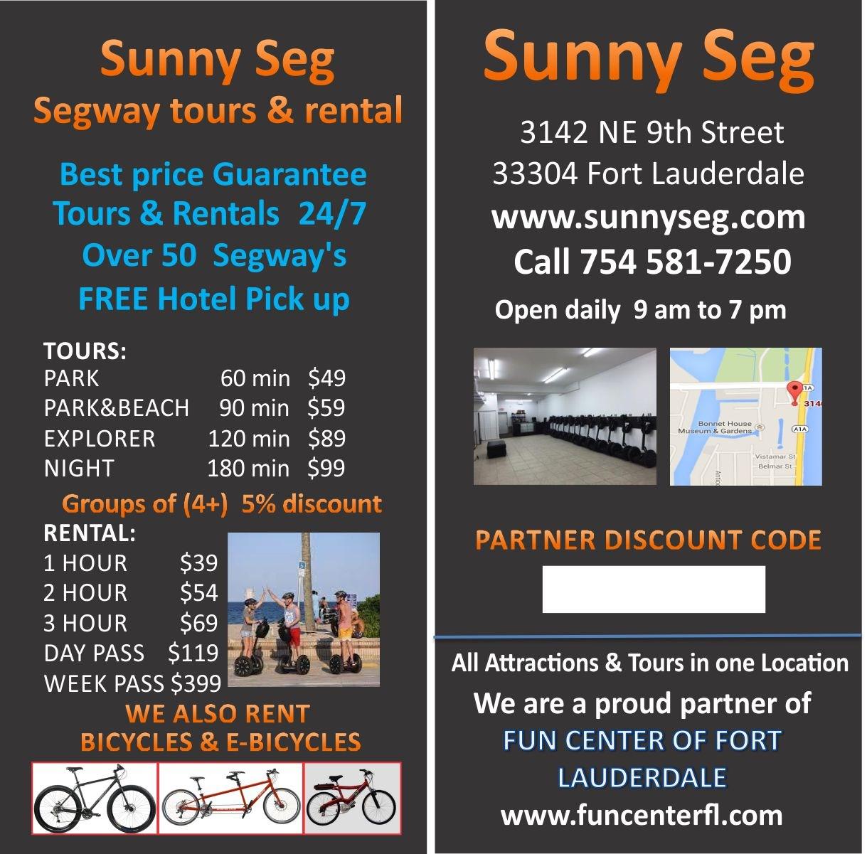 Sunny Seg Segway Tours & Rentals.