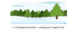 L J Campground Connection Logo