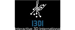 Interactive 3D International Logo