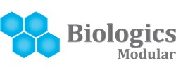 Logo for Biologics Modular, LLC