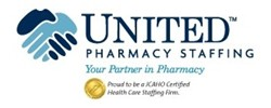UNITED Pharmacy Staffing Logo