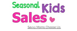Seasonal Kids Sales Logo