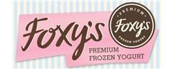Foxy's Pash Frozen Yogurt Logo