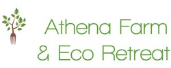 Athena Organic Farm + Eco-Retreat Logo